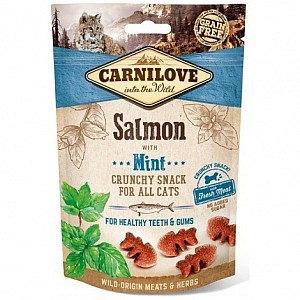 Carnilove Cat Soft Snack 50g Salmon with Mint
