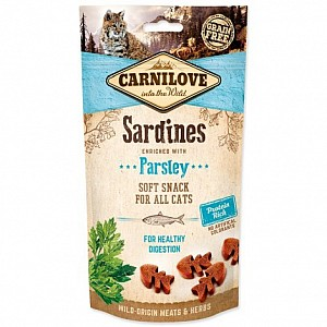 Carnilove Cat Soft Snack 50g Sardines with Parsley