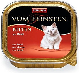 ANIMONDA Vom Feinstein Kitten hovězí 100g
